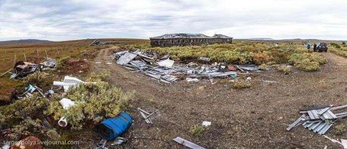 Заброшенная советская ядерная база Гудым на Чукотке (42 фото)