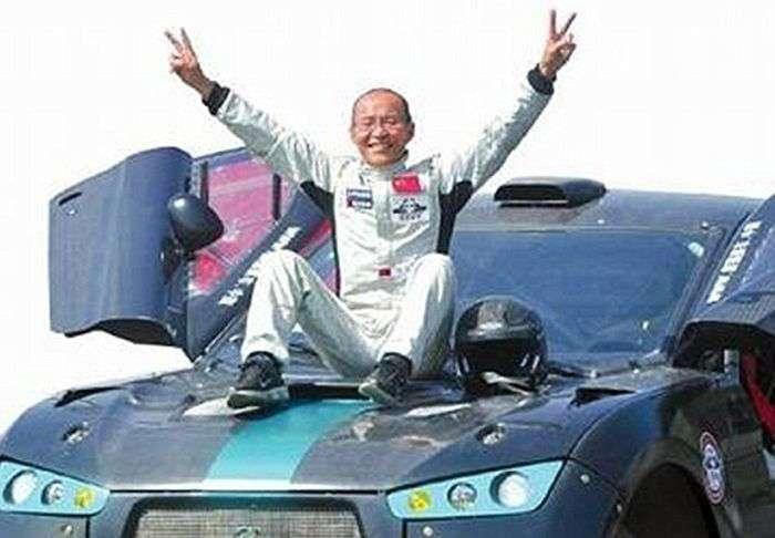 Лянь Сянь - невероятный китайский дедушка (9 фото)