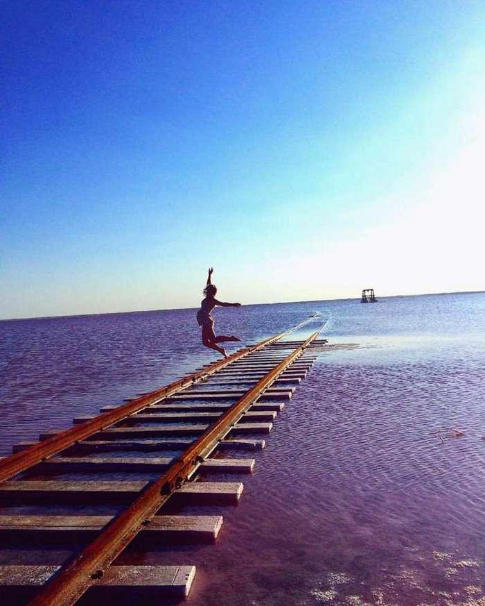В России есть озеро, которое каждый август превращается в «розовый кисель»