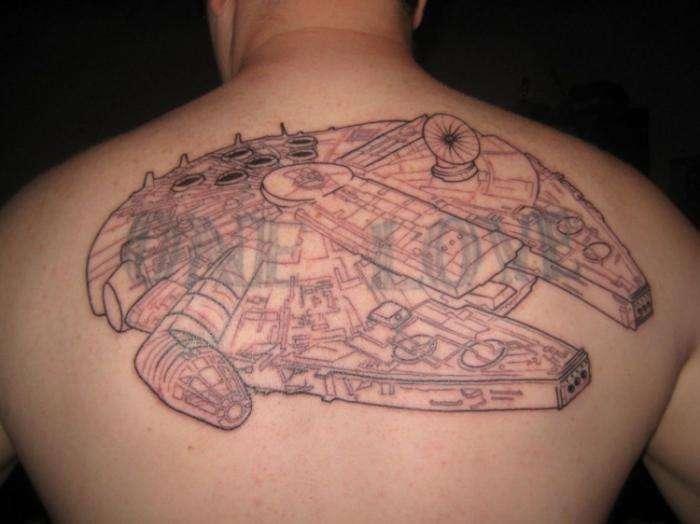 Татуировки на тему Star Wars (58 фото)