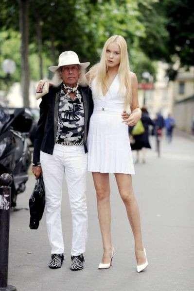 Белорусская модель предпочитает мужчин с опытом