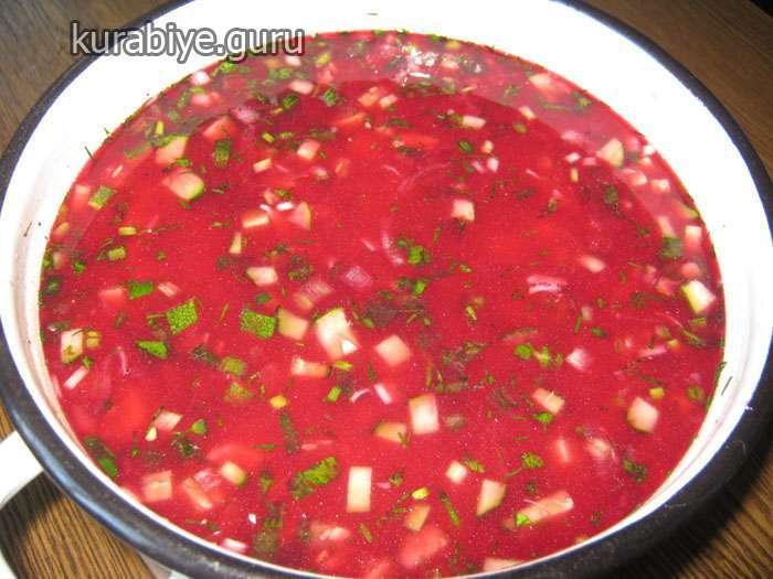 Свекольник – самый вкусный холодный суп