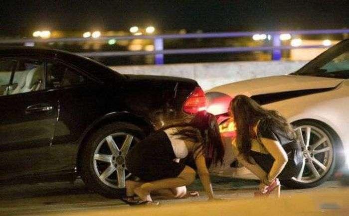 Женщины за рулем (55 фото)