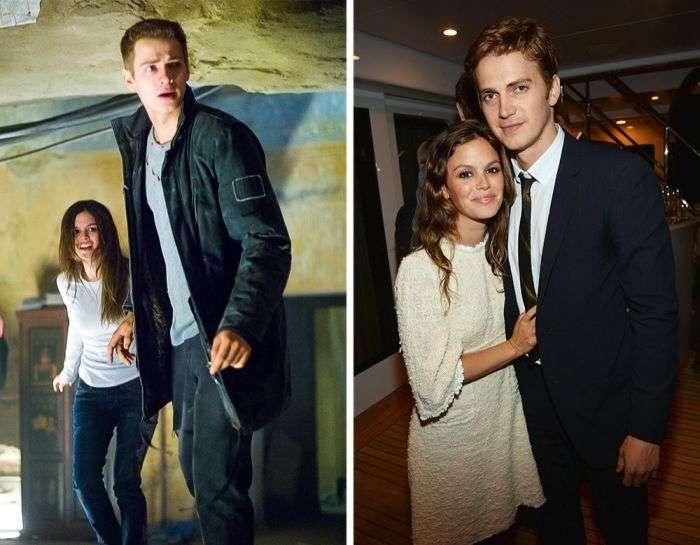 Звездные пары, романы которых начались в кино (13 фото)