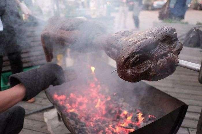 «Шашлык из инопланетянина» от шведских дизайнеров (7 фото)