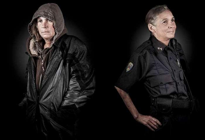 Принц и нищий: фотограф снял бездомных в образе их мечты