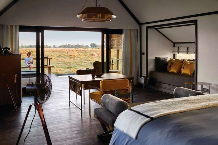 Роскошный отель в Ботсване