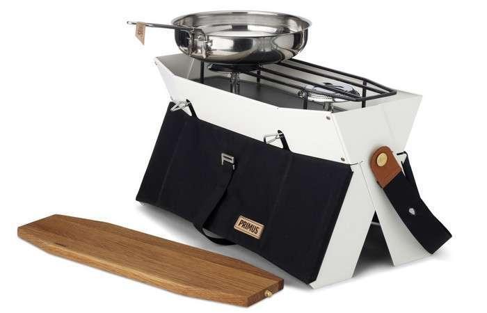 Миниатюрная кухонная плита, которая позволит готовить комфортно даже на природе