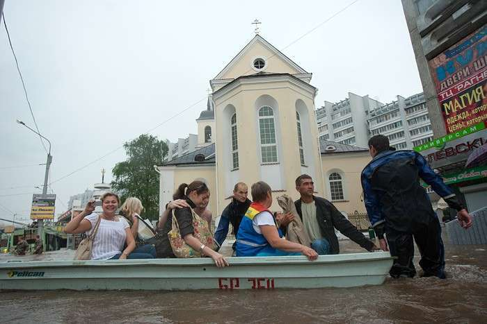 Дожди в Минске (30 фото)