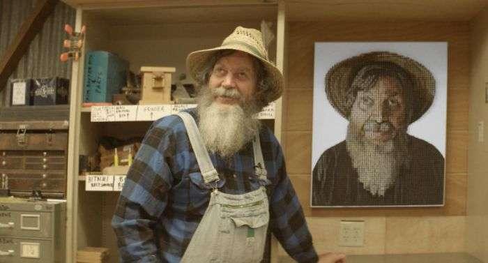3D-портрет слепого мужчины помог ему «рассмотреть» самого себя (12 фото)