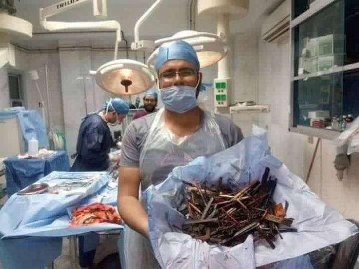 Хирургам стоит плотно сотрудничать с пунктами приема металлов (5 фото)