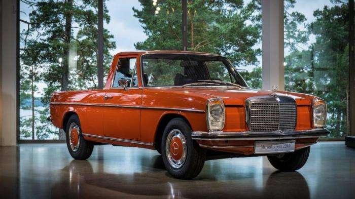 Серийный пикап Mercedes-Benz из 70-х (7 фото)