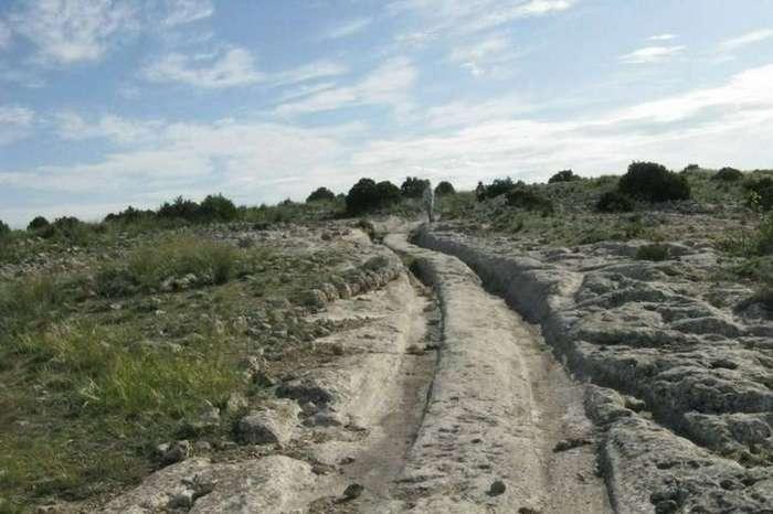 Тайны прошлого: следы древних вездеходов