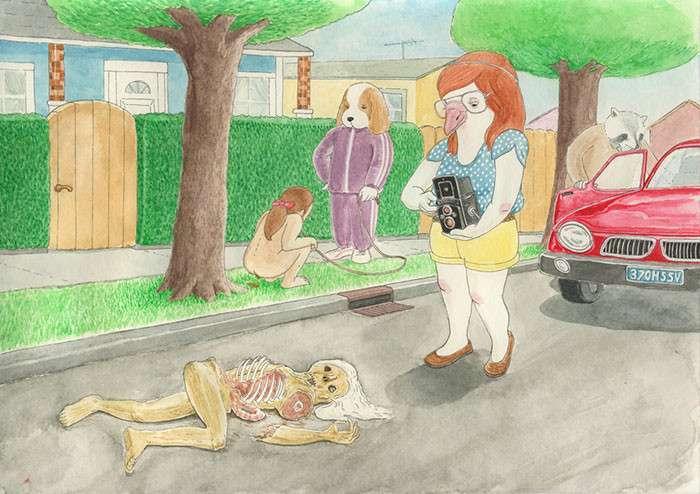 Правдивые иллюстрации о человеческом цинизме (25 фото)