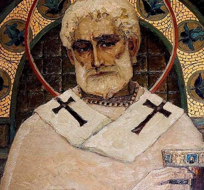 Портрет невесты вместо лика святой: кого изобразил художник М. Нестеров на фреске Владимирского собора