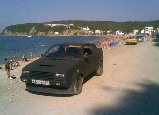 Тюнингованные российские автомобили (19 фото)