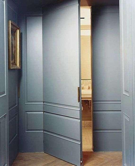 Потайные двери: 10 потрясающих примеров, которые поразят в самое сердце