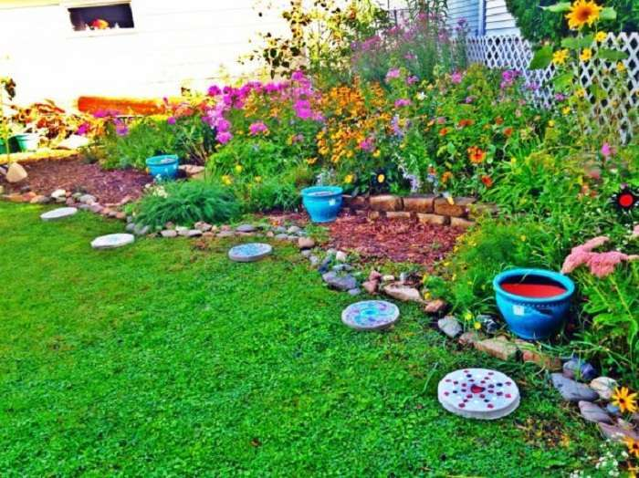 Творческие идеи для сада: 33 крутых примера