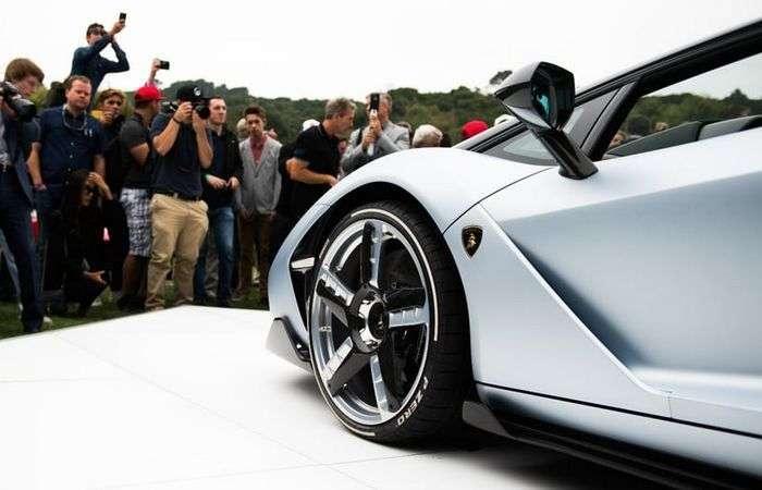 Lamborghini Centenario: юбилейный родстер, который остался без крыши