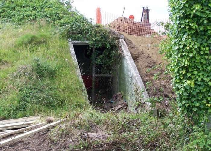 Уютное убежище: дом, переделанный из бункера