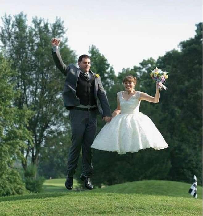 На долгую память: 17 нелепых свадебных фотографий, на которые без слез не взглянешь