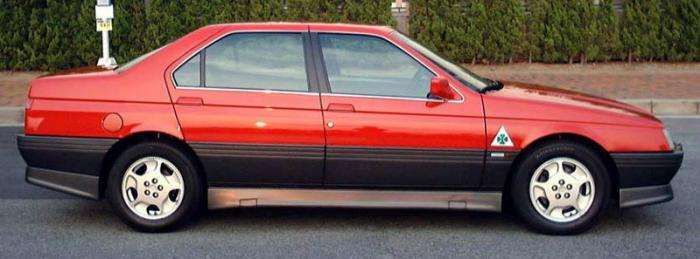 Alfa Romeo 164. Итальянский бизнес класс 90х (8 фото)