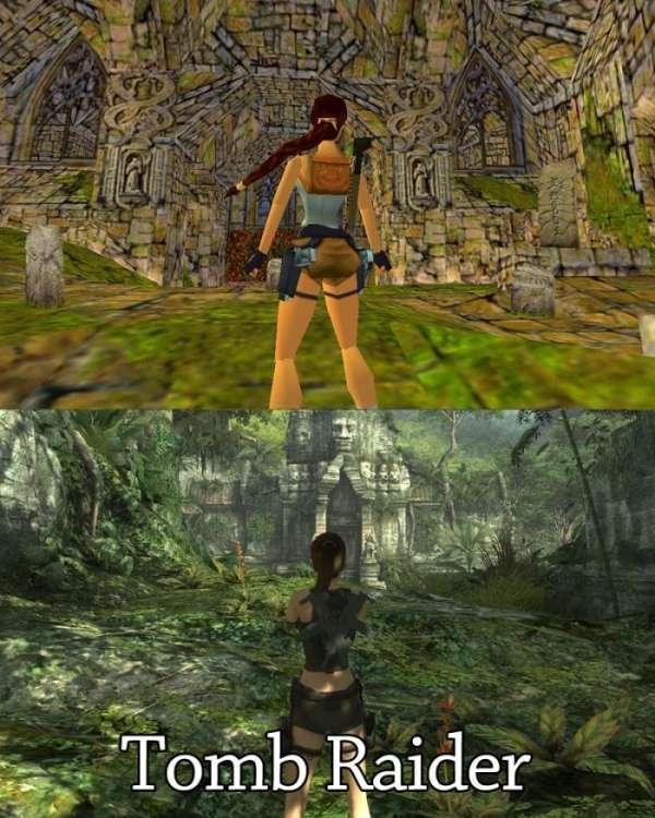 Компьютерные игры в прошлом и в наши дни (20 фото)