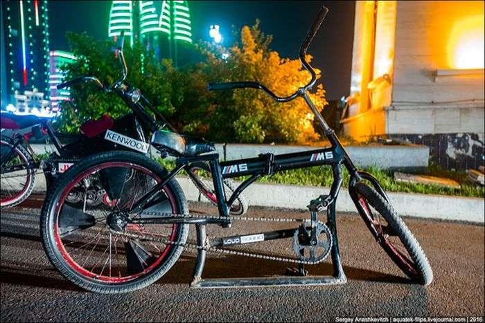Чеченские заниженные велосипеды (9 фото)
