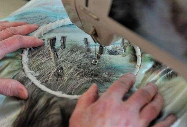 Нереально реальная вышивка (14 фото)