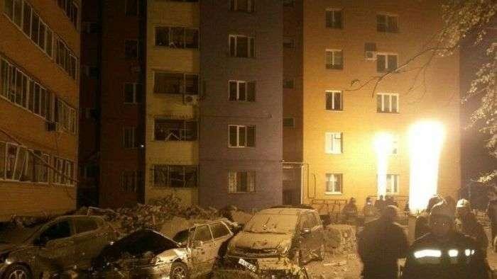 Взрыв в многоэтажном доме Рязани из-за утечки газа (5 фото)
