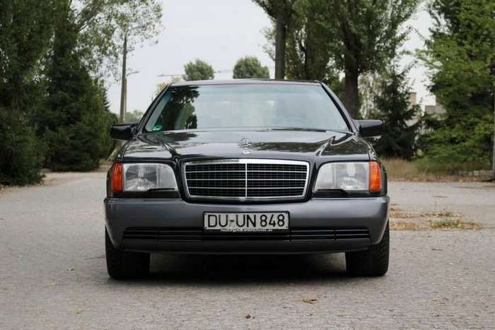 Mercedes-Benz W140 600 SEL 1992 — от первого владельца