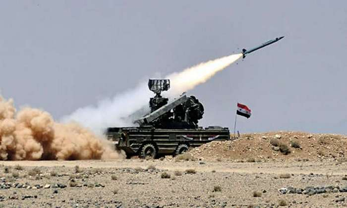 Системы ПВО, развёрнутые в Сирии