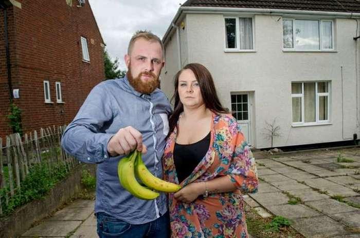 Сюрприз в купленных бананах заставил семью сбежать из дома