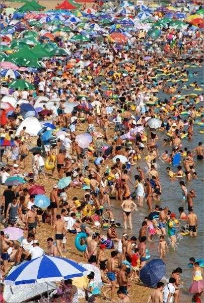 Пляжи в Китае (11 фото)