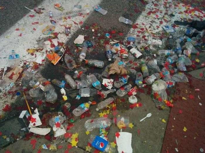 Последствия парада чемпионов в Кливленде
