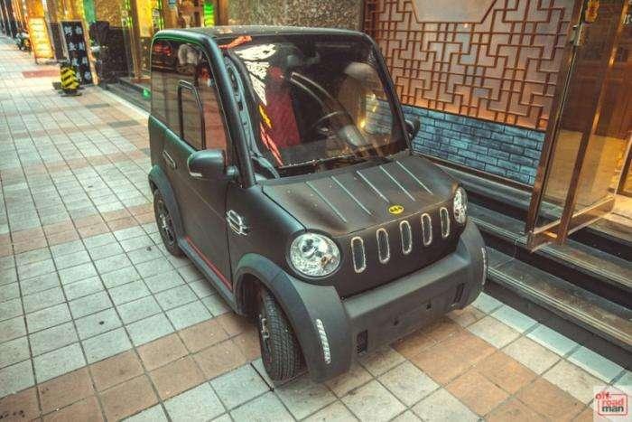 Самый маленький автомобиль в мире? (6 фото)