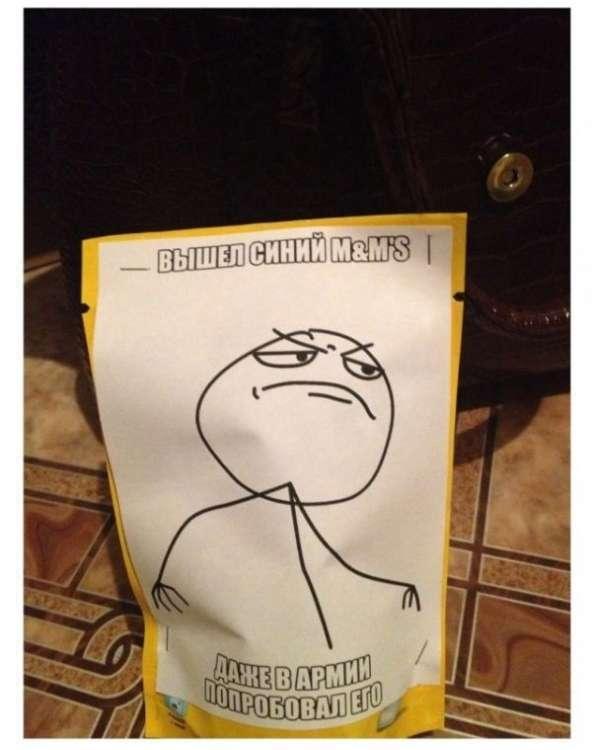 Креативная посылка другу в армии (7 фото)