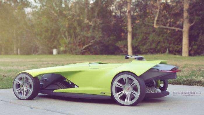 Osis - атомобиль будущего от Dodge (6 фото)