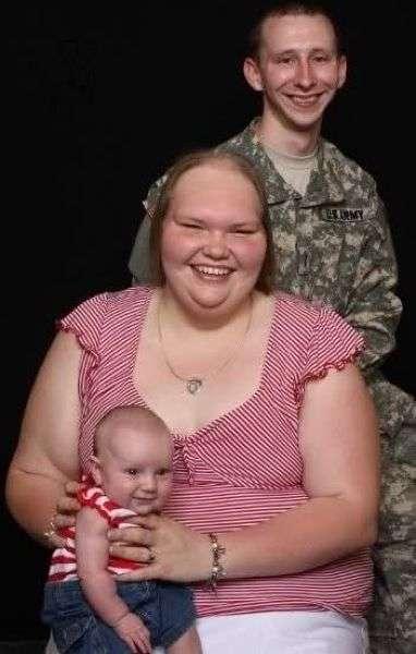 У самой колоритной семейной пары родился здоровый малыш