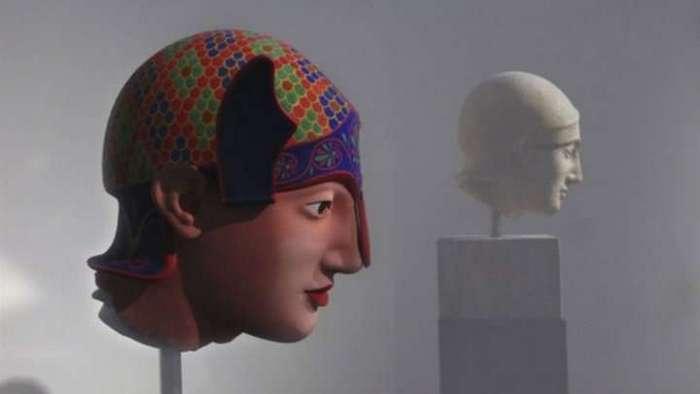 Античные статуи изначально выглядели совершенно иначе