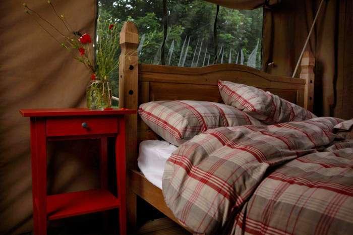 Глэмпинг - комфортная альтернатива кемпингу с обычными палатками
