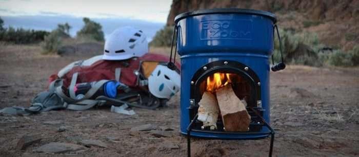Безопасная переносная печь, которая не требует газа для работы