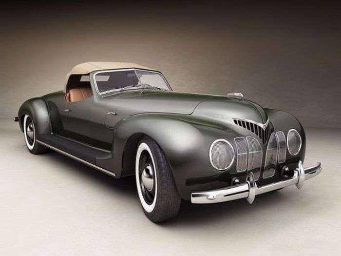 Роскошные ретро-автомобили в стиле ар-деко, опередившие свое время