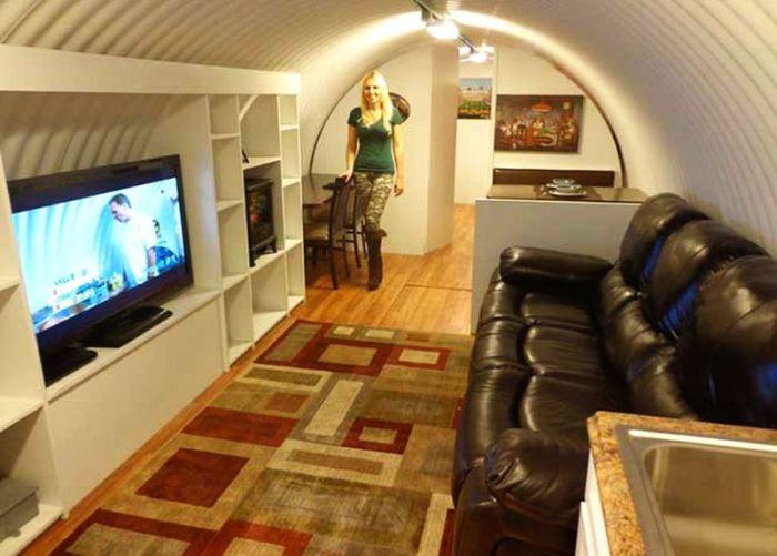 Уютный подземный бункер - эффективное убежище при зомби-апокалипсисе
