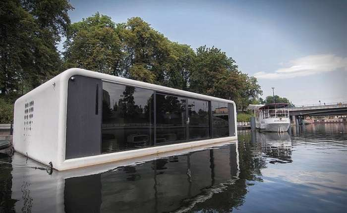 Дом на воде: прототип комфортного плавучего жилища