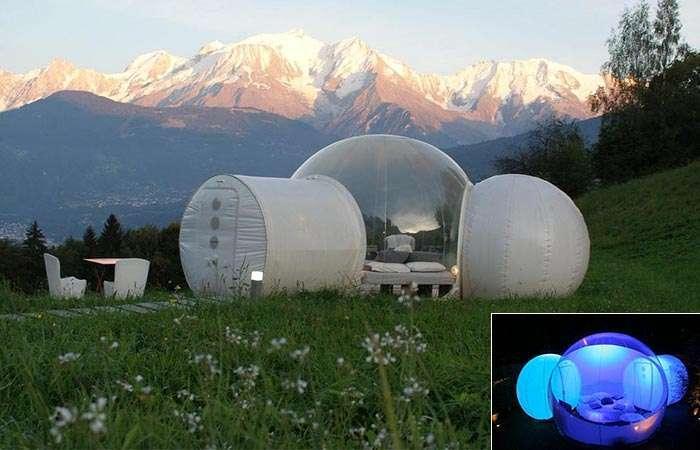 Палатка Twin Tunnel Bubble Tent - идеальный способ наслаждаться природой
