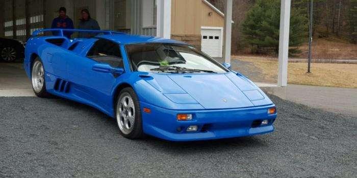 Lamborghini Diablo Дональда Трампа продается на eBay (14 фото)