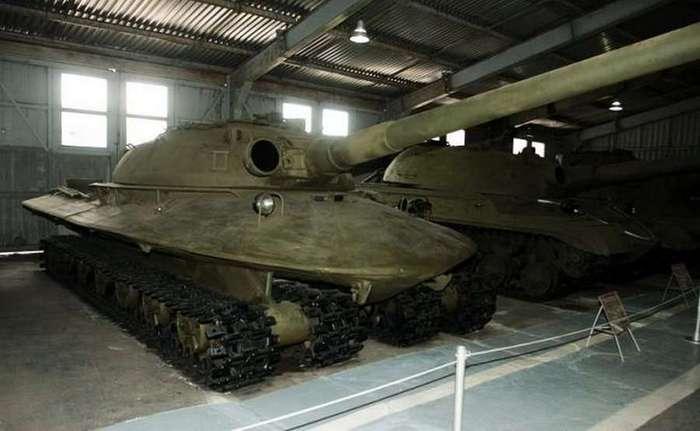 Проект 279: атомный танк
