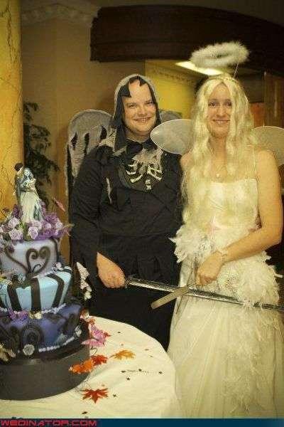 Забавные свадебные фотографии (43 фото)