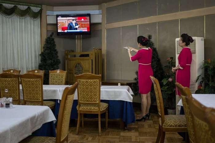 Кадры повседневной жизни в Пхеньяне